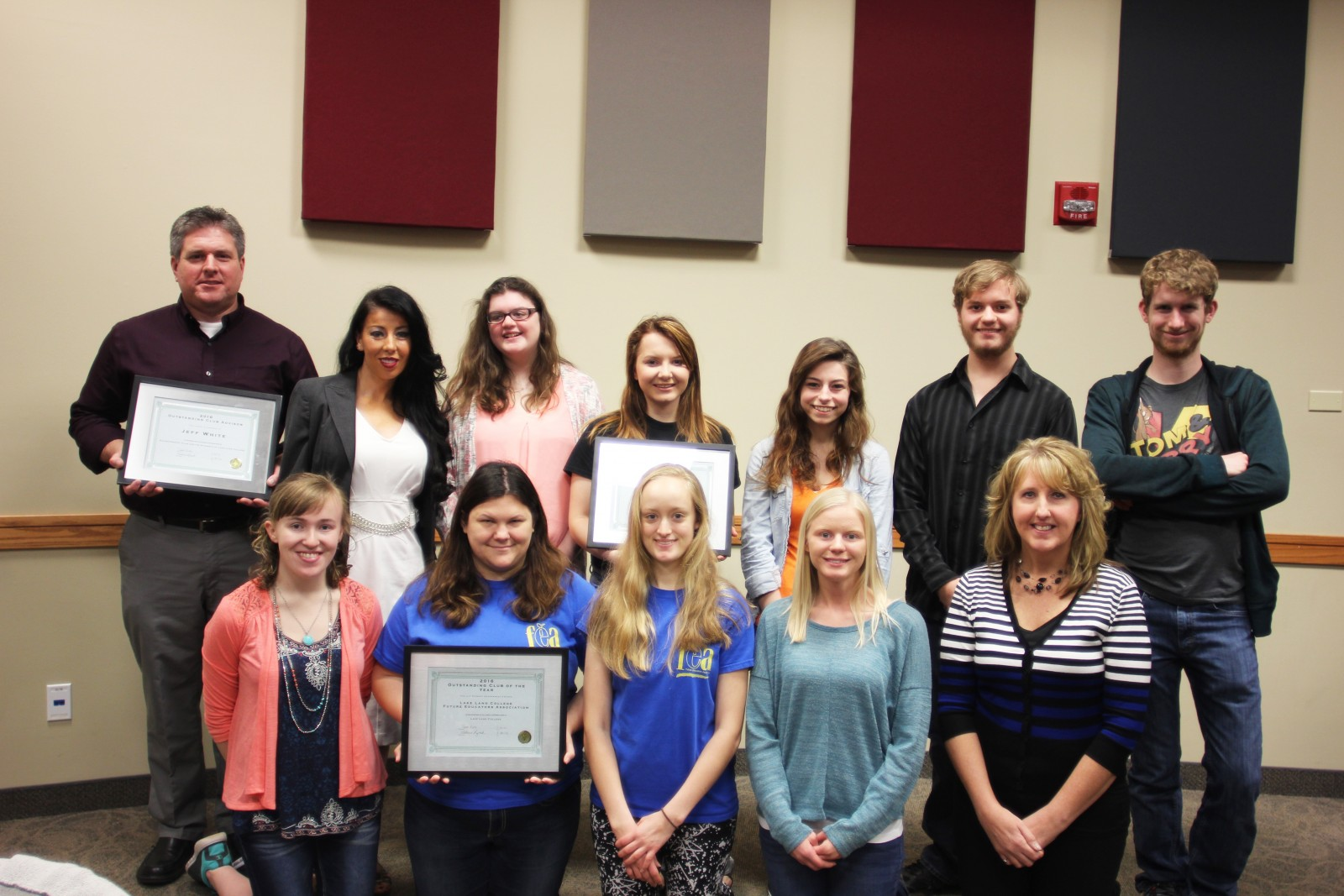 Lake Land College Outstanding Club Awards 2016