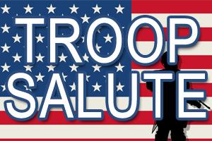 Troop Salute 300x200