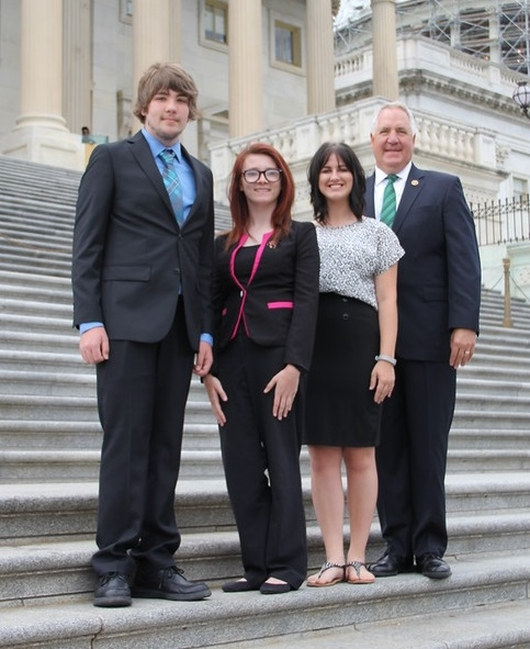 "Area Students Return From the ""Youth to Washington"" Tour"