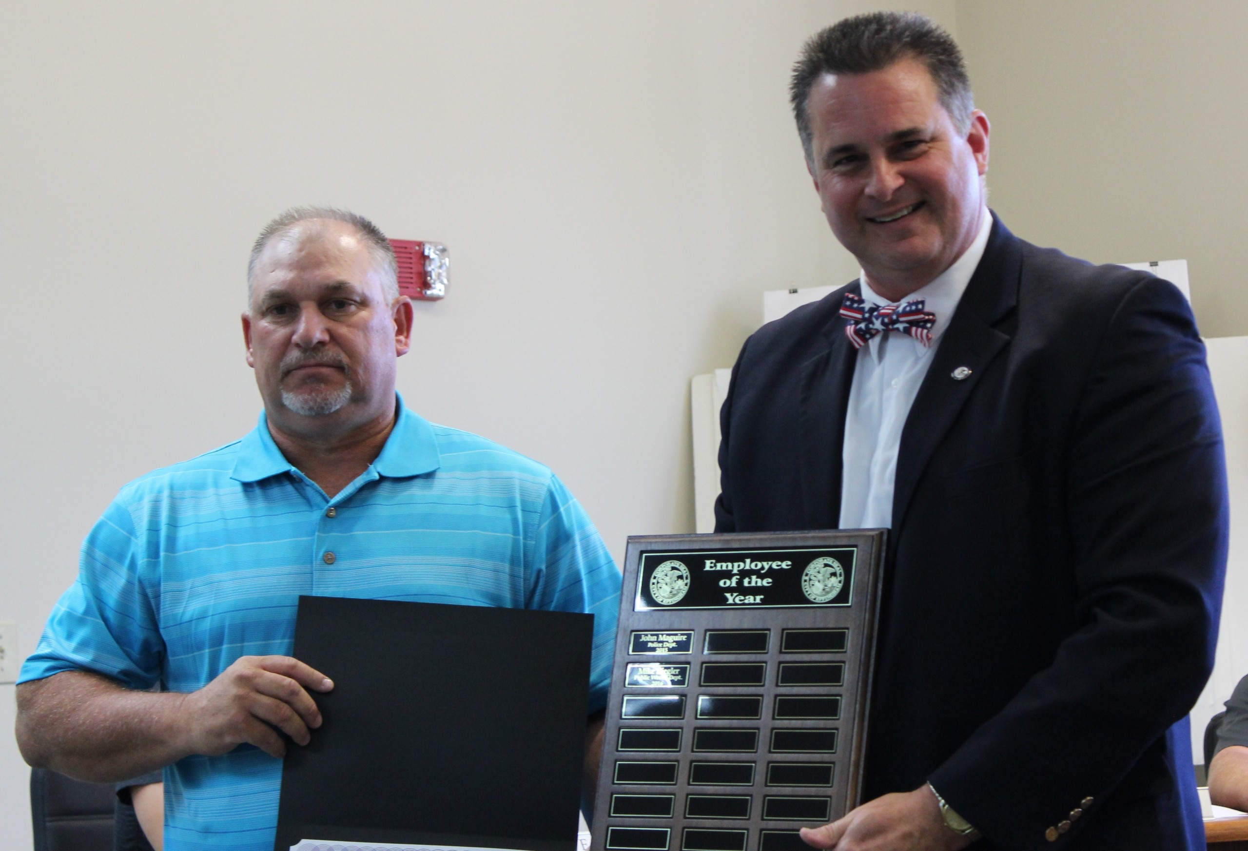 Effingham City Council Recognizes Mike Ziegler As Employee of the Year
