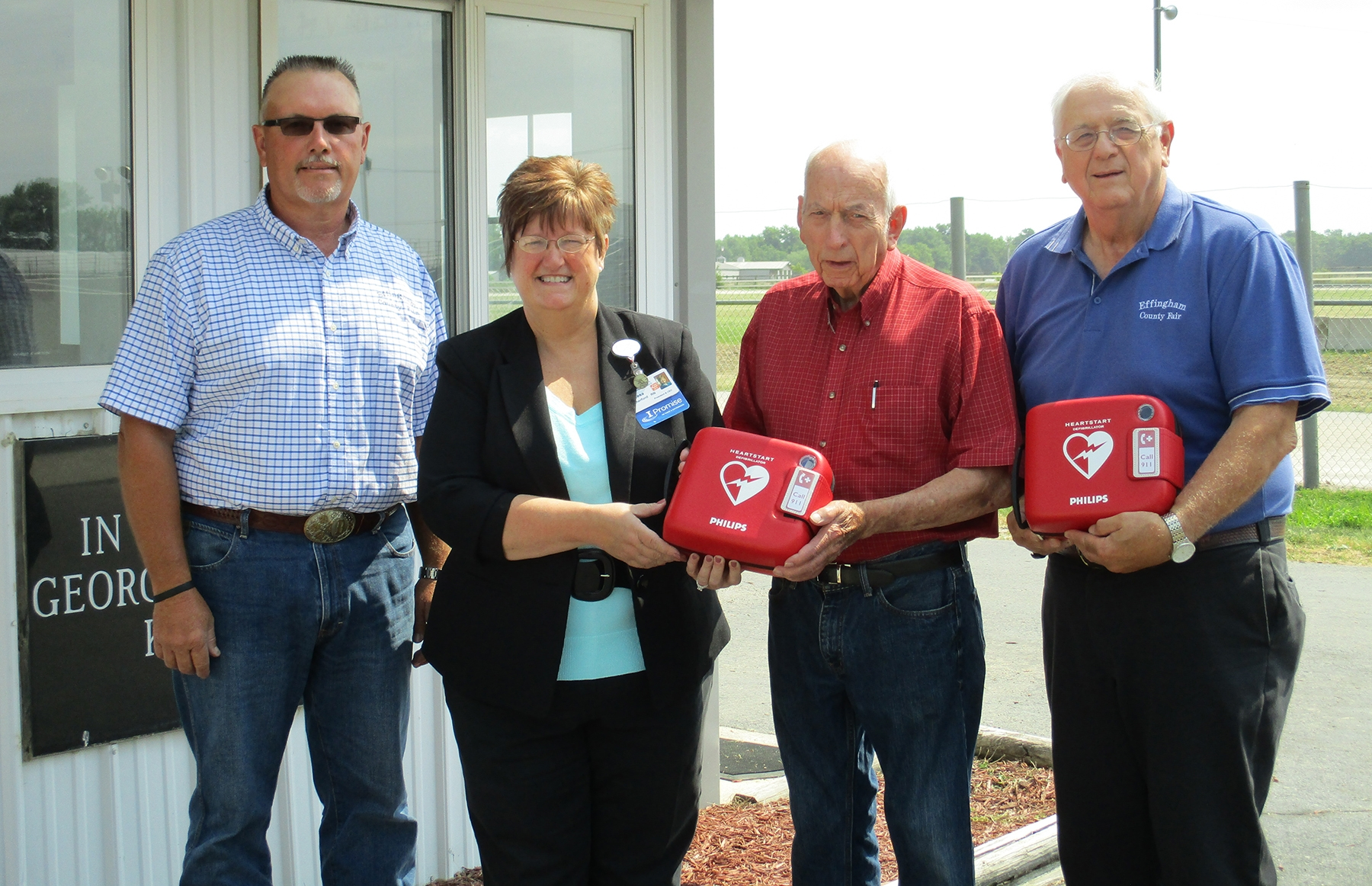 Eff Cty Fairgrounds_AED Donations