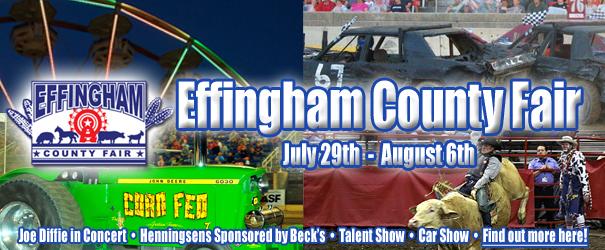 Parking For Effingham County Fair at Altamont High School