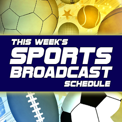 Sports Schedule for the Week of December 12th