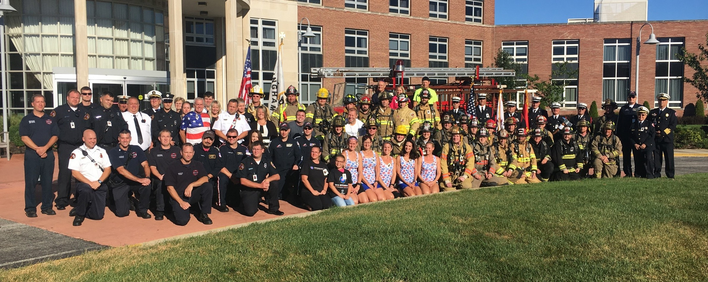 Local Fire Departments Climb 110 Stories to Honor 9/11 Victims