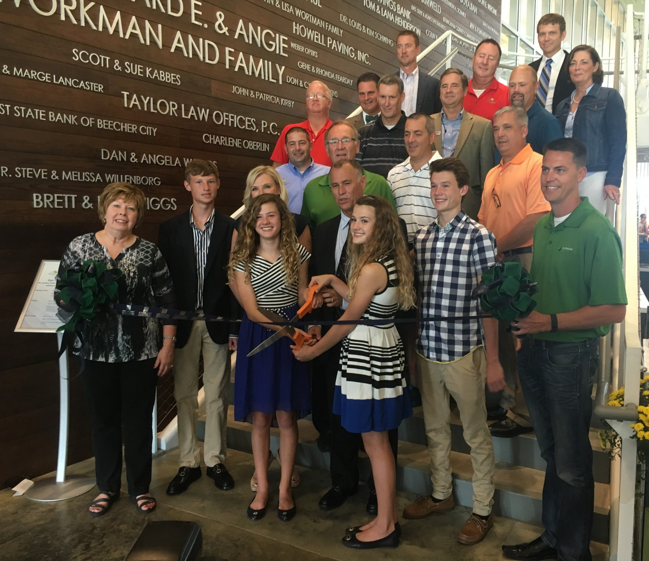 Richard E. Workman Sports & Wellness Complex holds Grand Opening