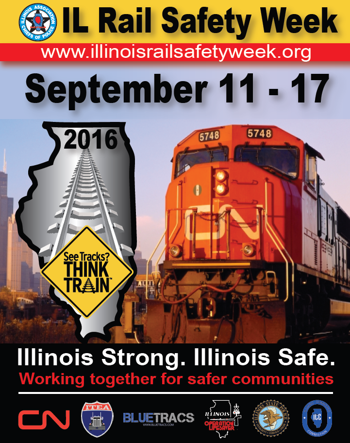 Illinois Rail Safety Week Starts Today