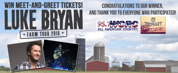 Luke Bryan Photo Contest Winner