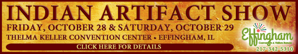 Indian Artifact Show - Homepage Banner