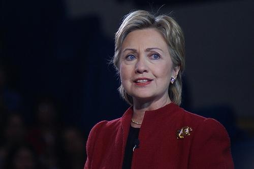 Clinton Casts Historic Vote In Suburban New York