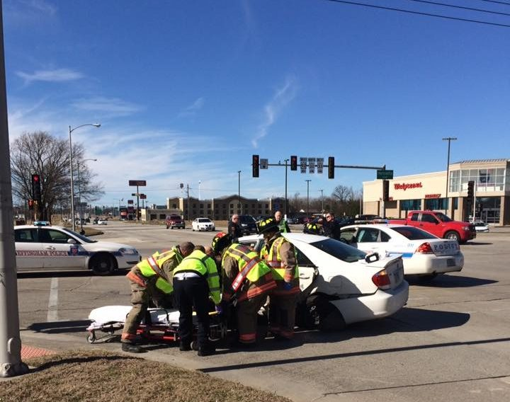 Two Injured in Accident at Fayette and Henrietta