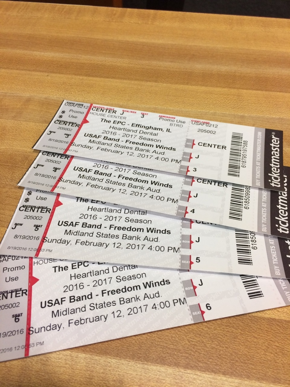 Win Tickets to see the United States Air Force Band