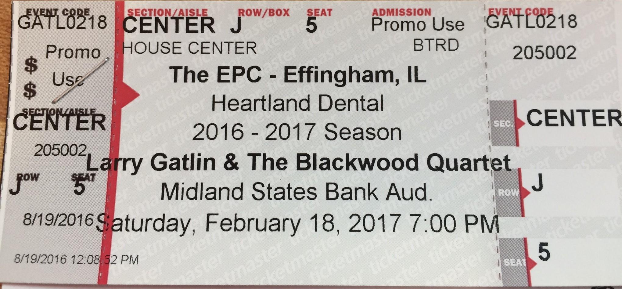 Larry Gatlin Tickets