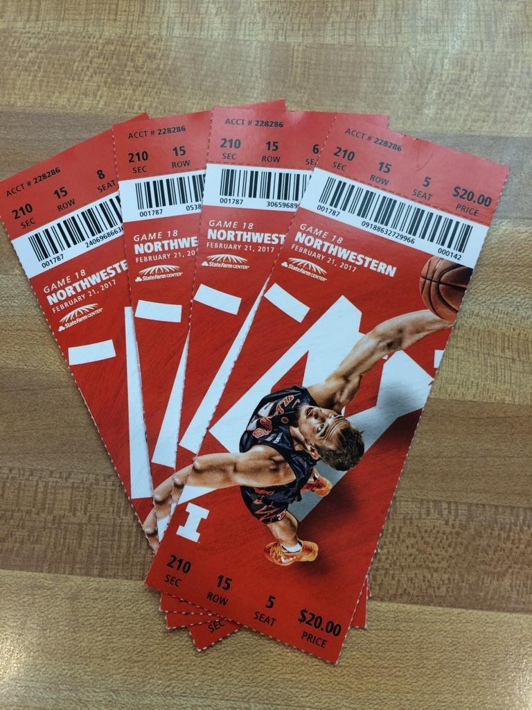 University of Illinois Basketball Tickets