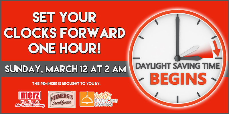 "Daylight Saving Time - ""Spring"" Ahead!"
