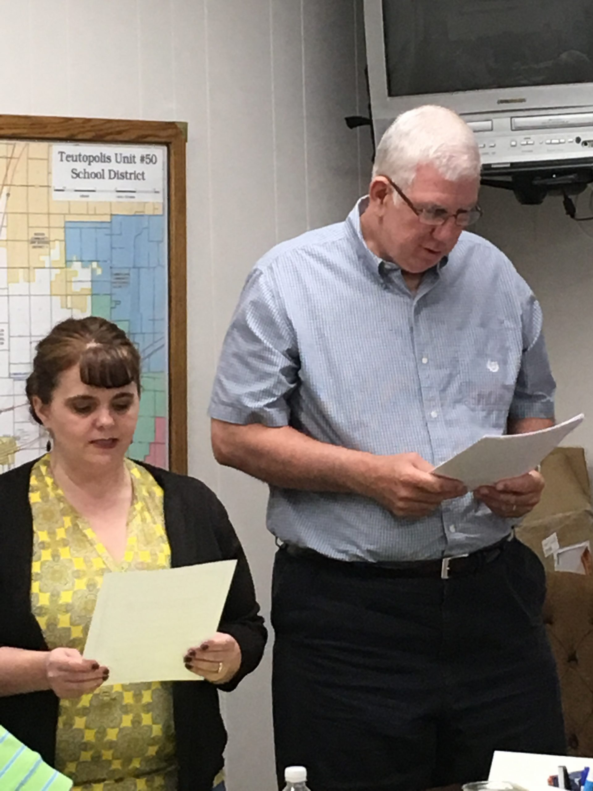 Teutopolis School Board Welcomes New Members