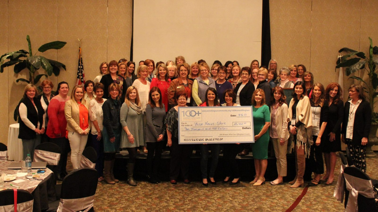 100+ Women Who Care of Effingham County.