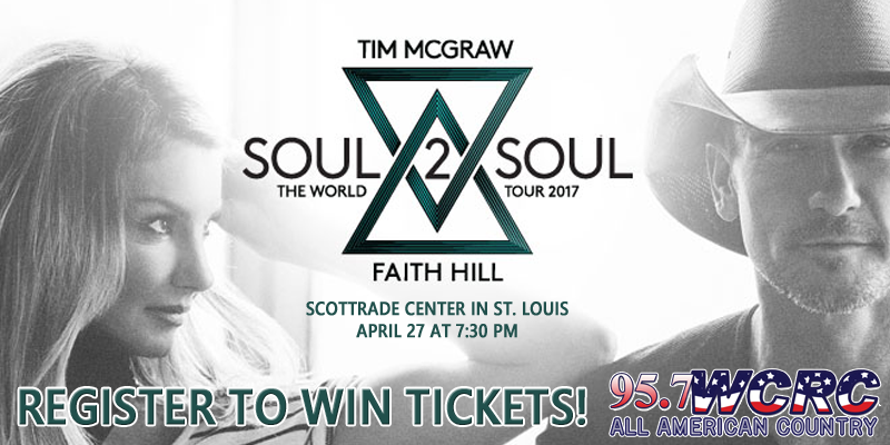 Register to Win Tim McGraw & Faith Hill Tickets