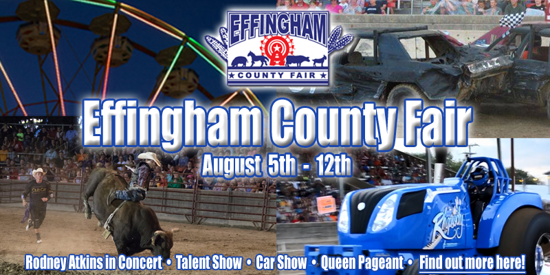 Effingham County Fair Schedule of Events
