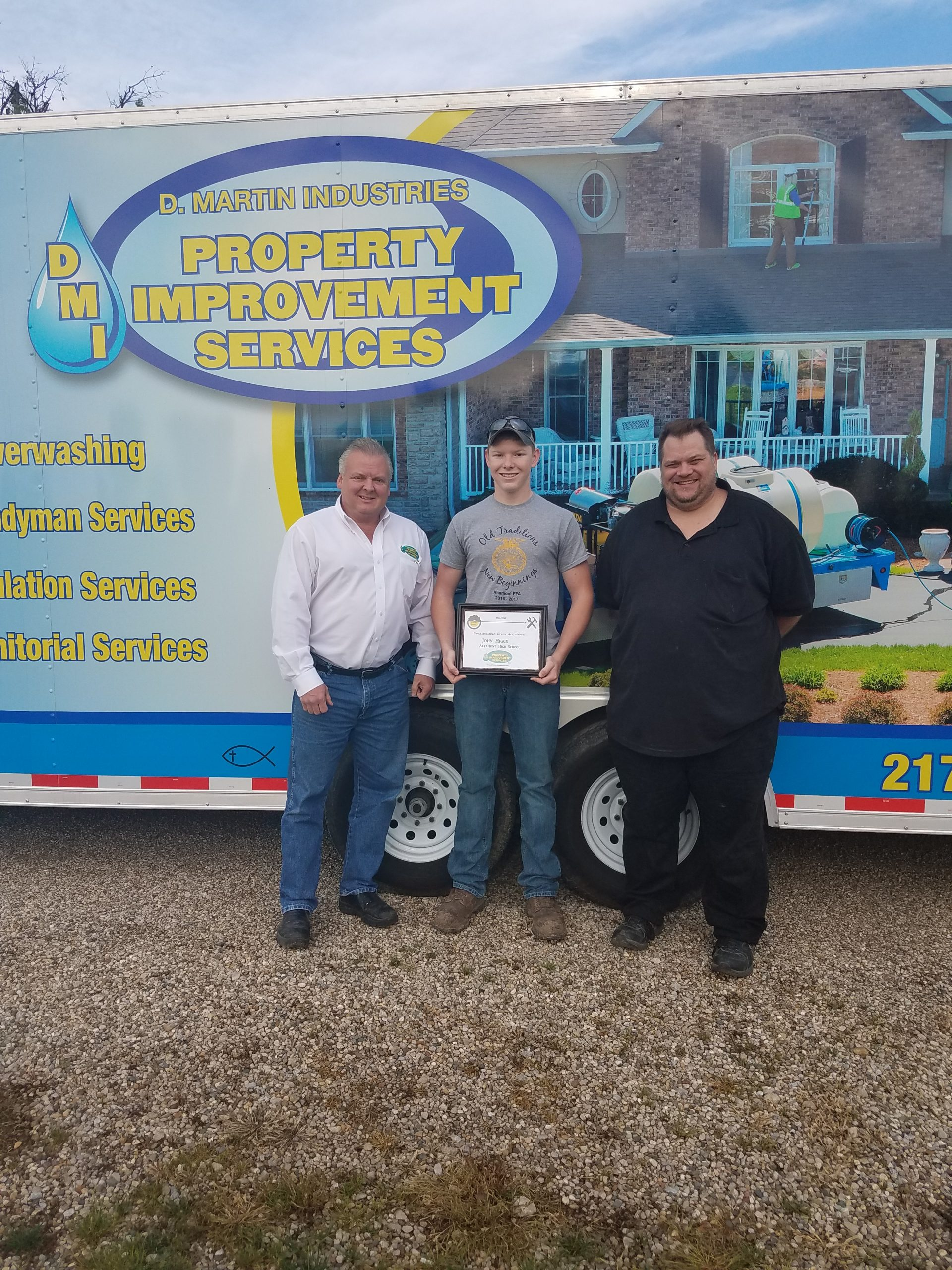 Altamont High School Student Awarded May Top Shop Award