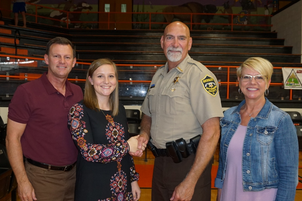 Altamont High School Student Awarded 2017 Illinois Sheriff's Association Scholarship for Effingham County