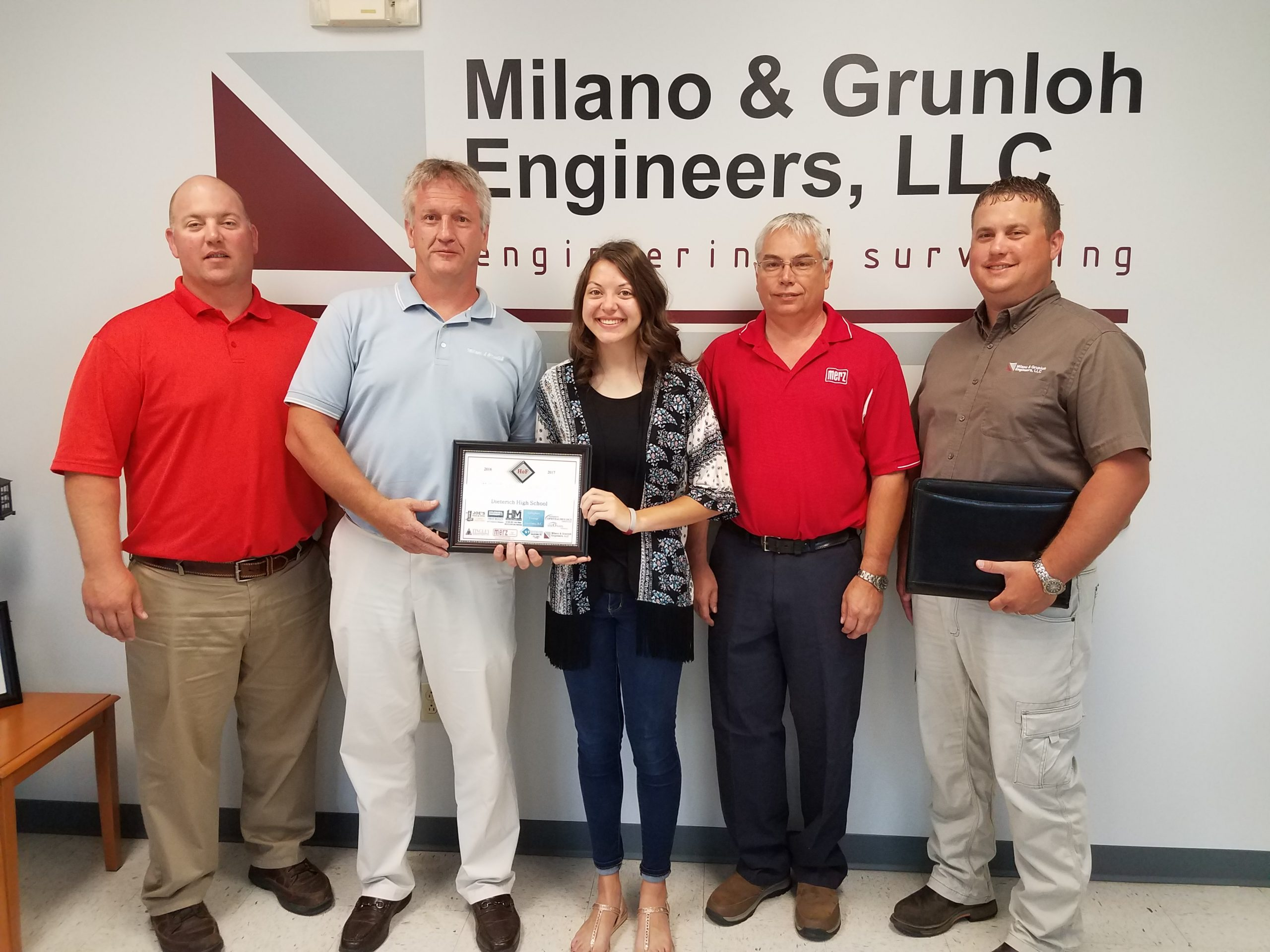 Dieterich High School Student Awarded June Hall of FAME Award