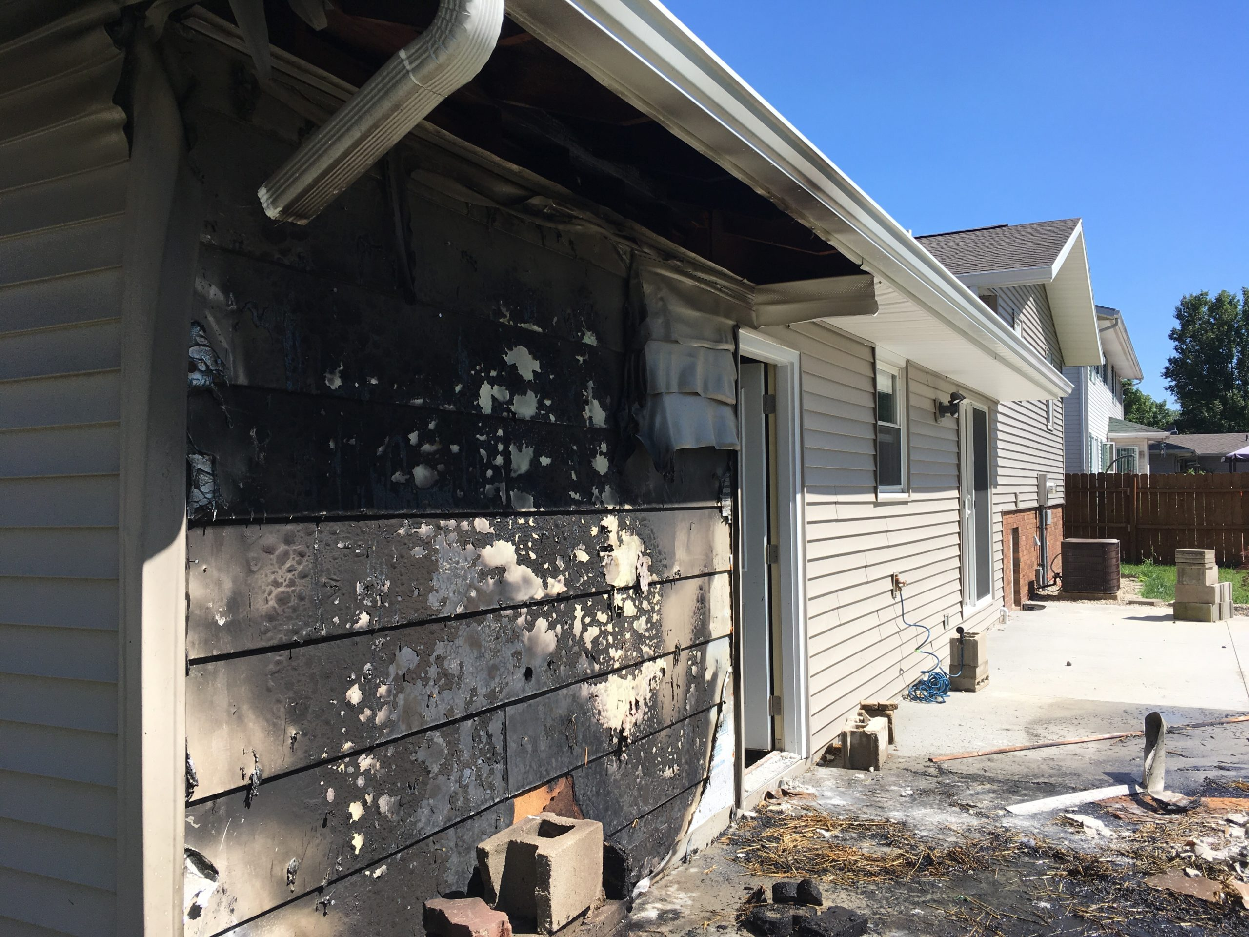 Effingham Fire Department Battles Residence Fire Tuesday Afternoon