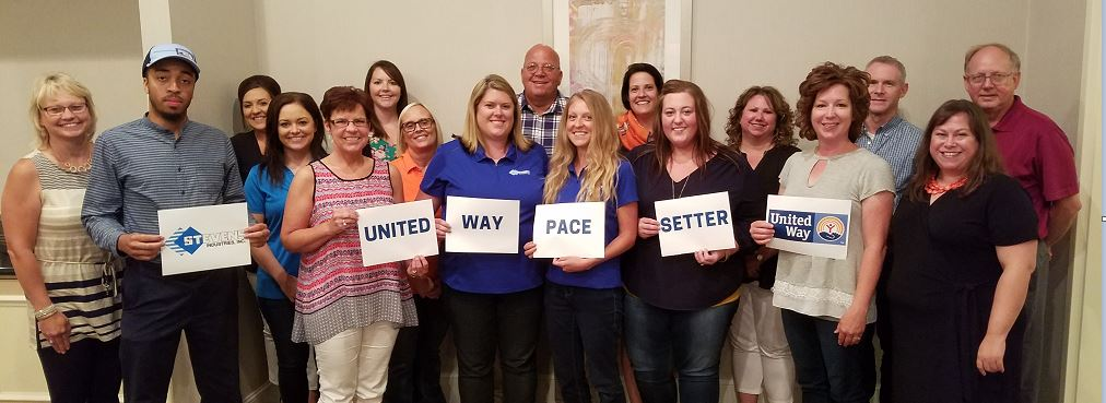 Stevens Industries Selected As Lead Pacesetter Company for United Way
