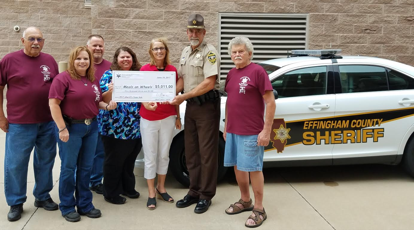 Over $6,500 Donated to CEFS Meals on Wheels
