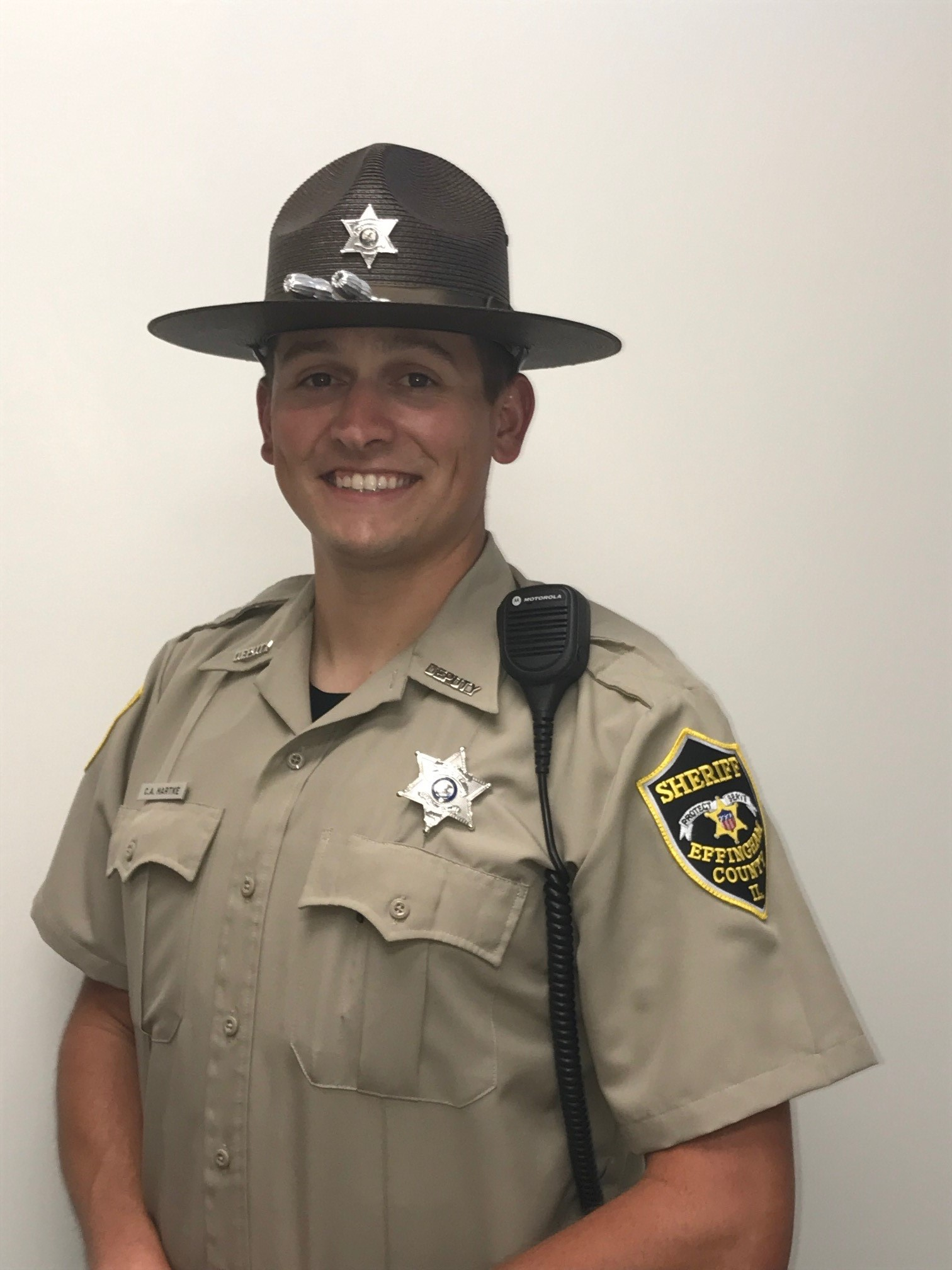 Effingham Man Hired as Full-Time Effingham County Sheriff's Deputy