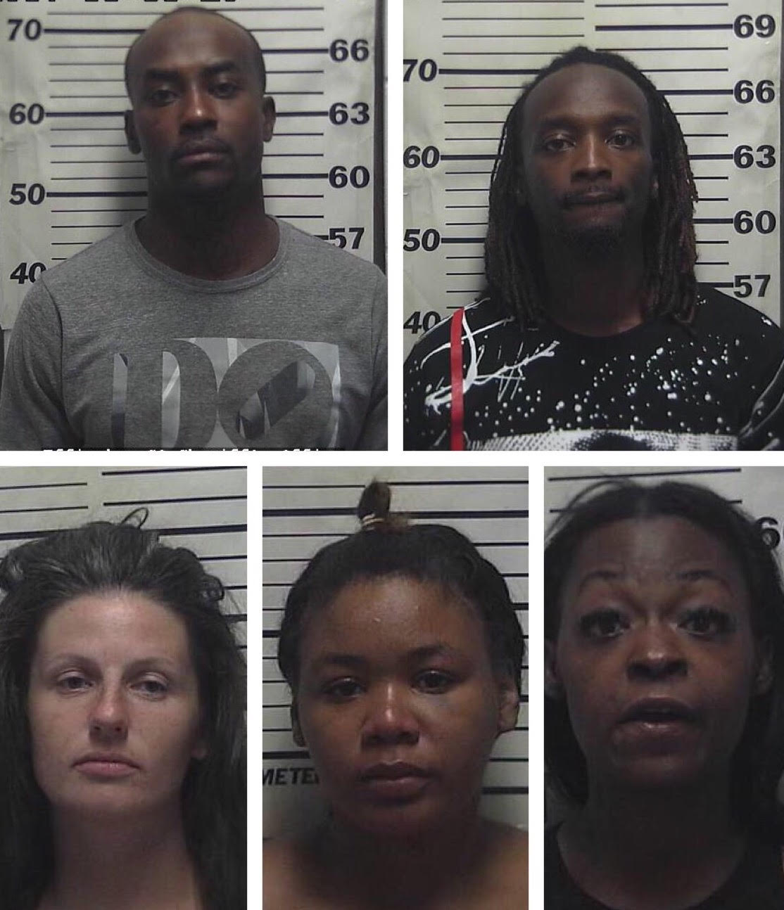 Five People Arrested After Using Counterfeit Bills at Local Businesses