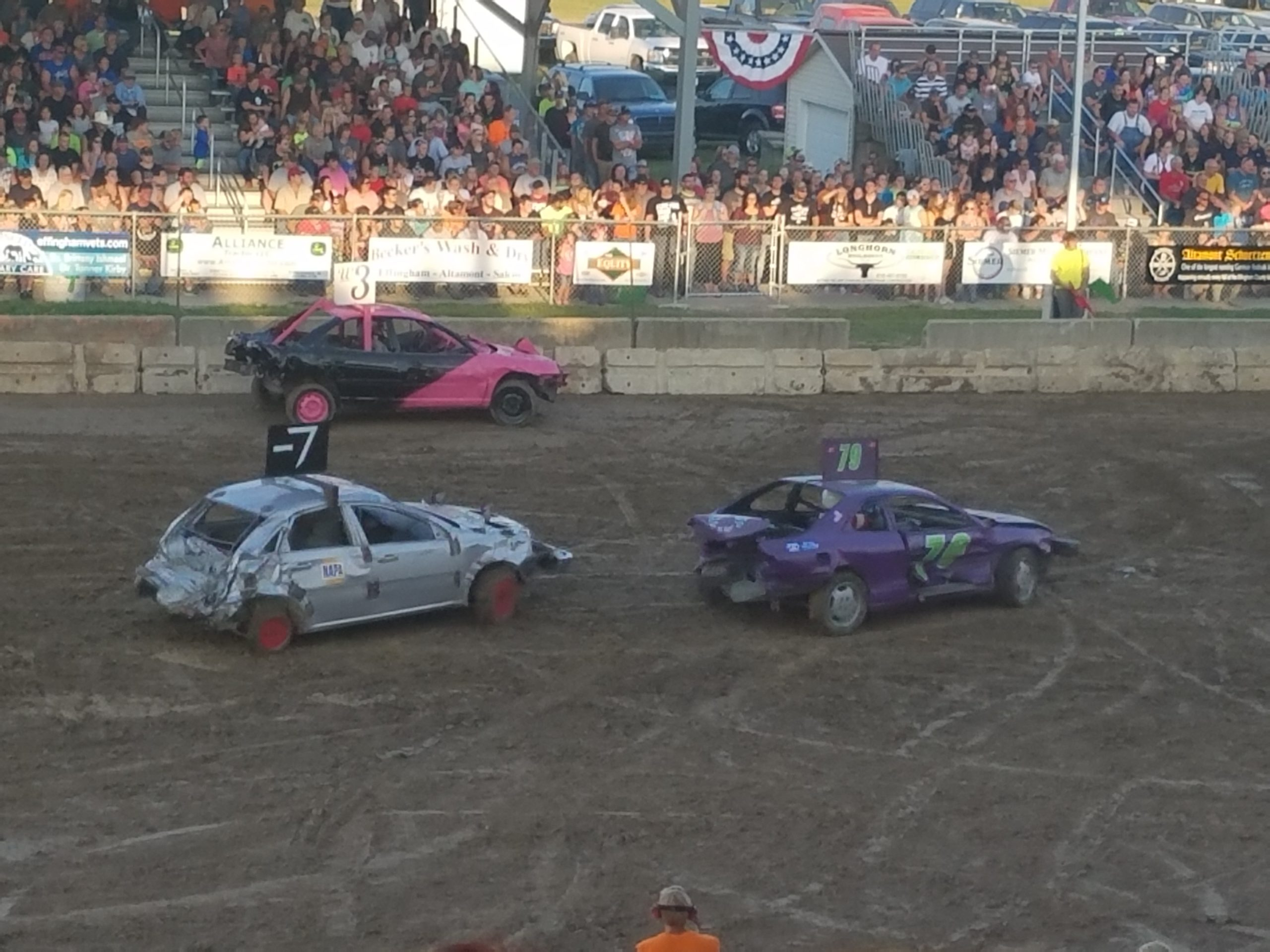 2017 Effingham County Fair Wraps Up With Demo Derby
