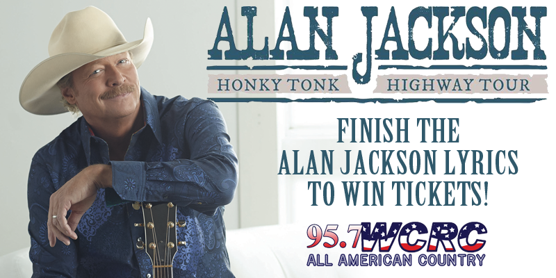 "Alan Jackson ""Finish the Lyrics"" Ticket Giveaway"