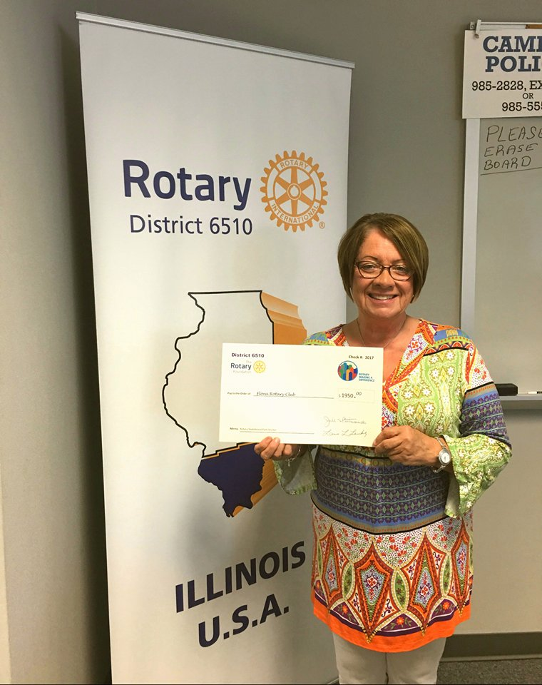 Flora Rotary Receives District Grant