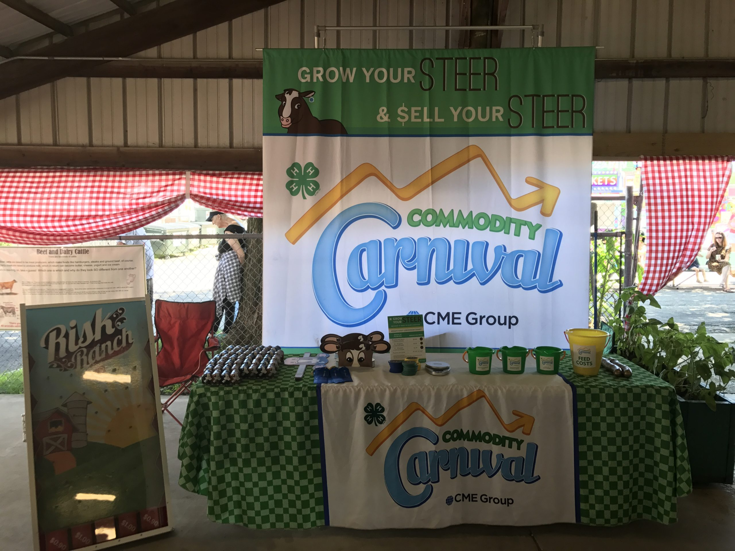 Commodity Carnival At the Effingham County Fair Today