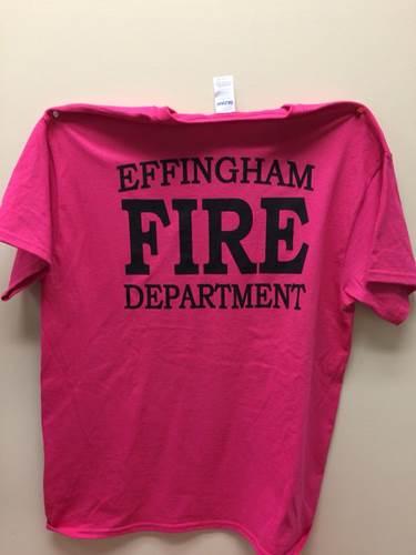 Effingham FD Goes Pink for Breast Cancer