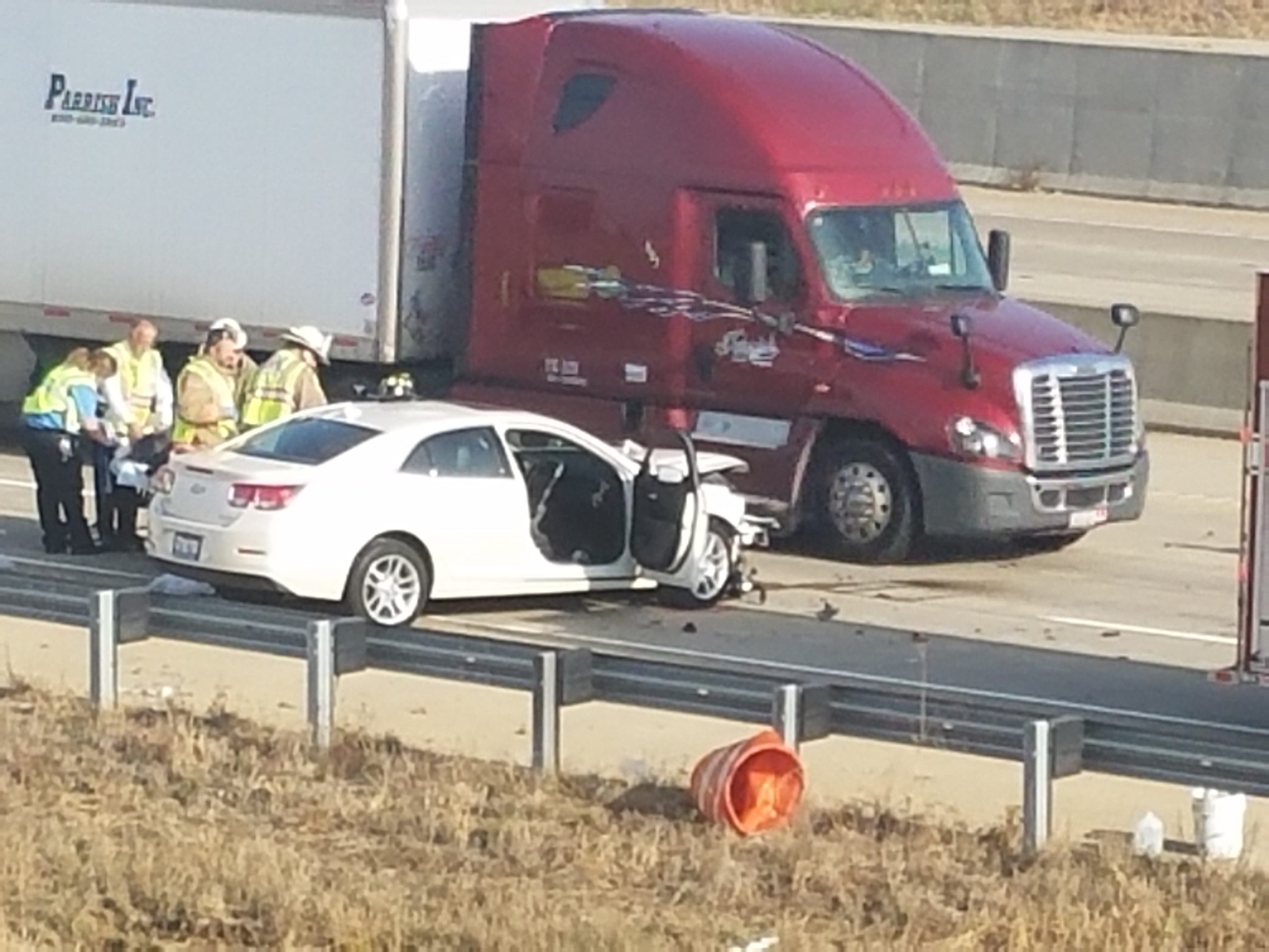 Accident on I-57 Southbound