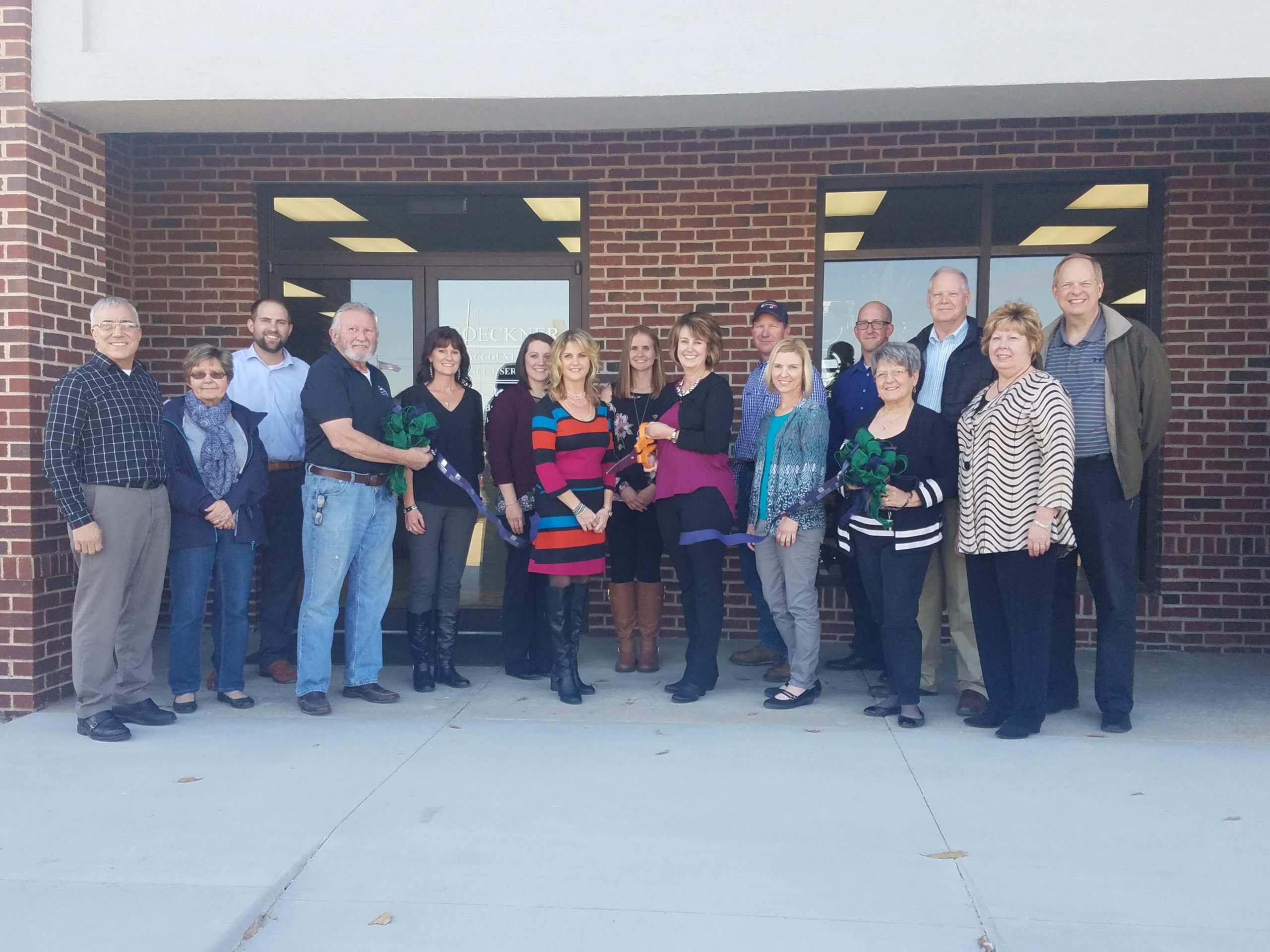 Goeckner Accounting Holds Ribbon Cutting for Expansion to Their Office
