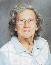 Mae K. Blank, 95