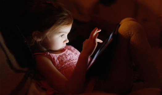 Tired Children? Could be Too Much Screen Time