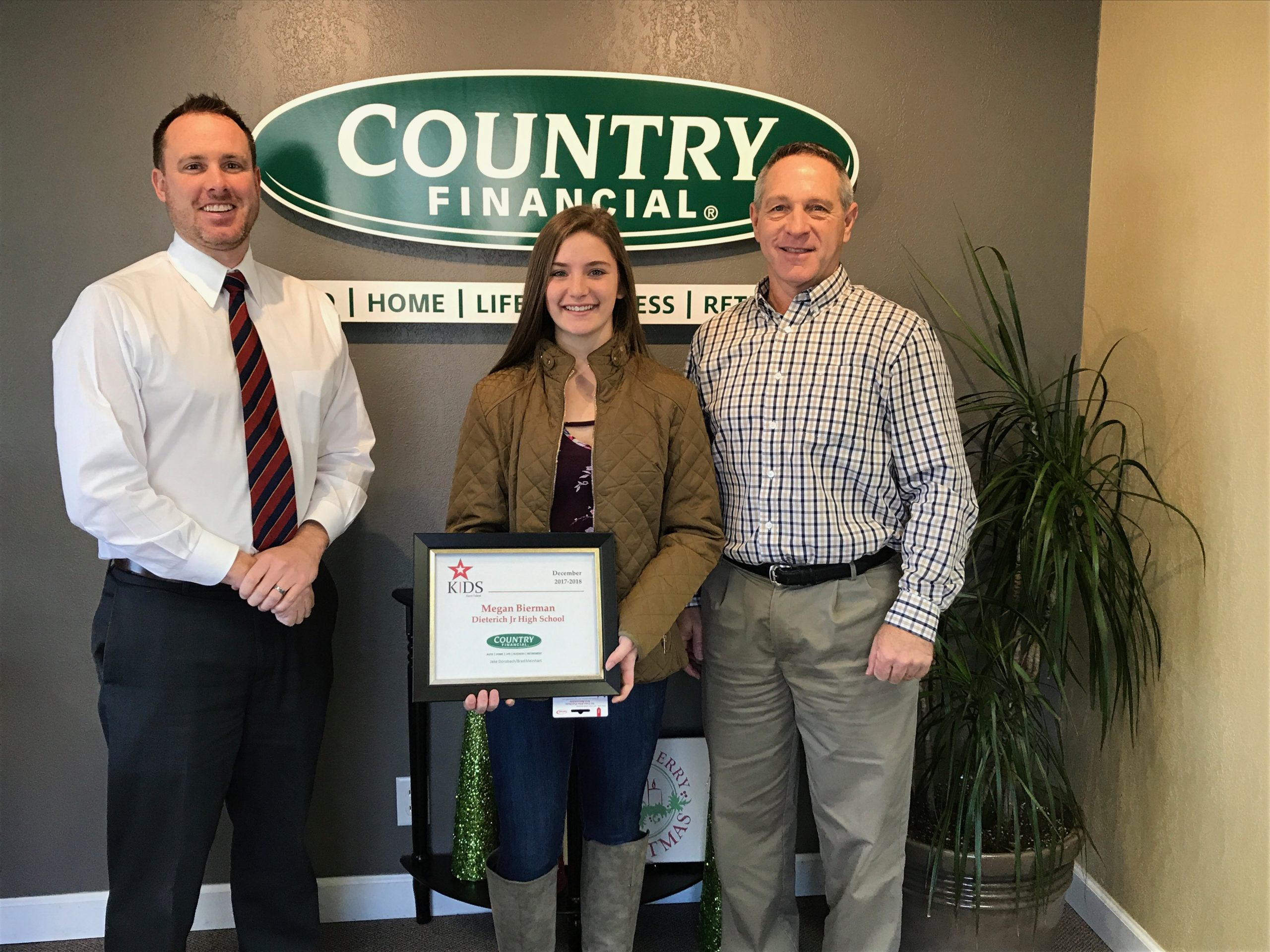Local Dieterich Student Recognized by COUNTRY Financial