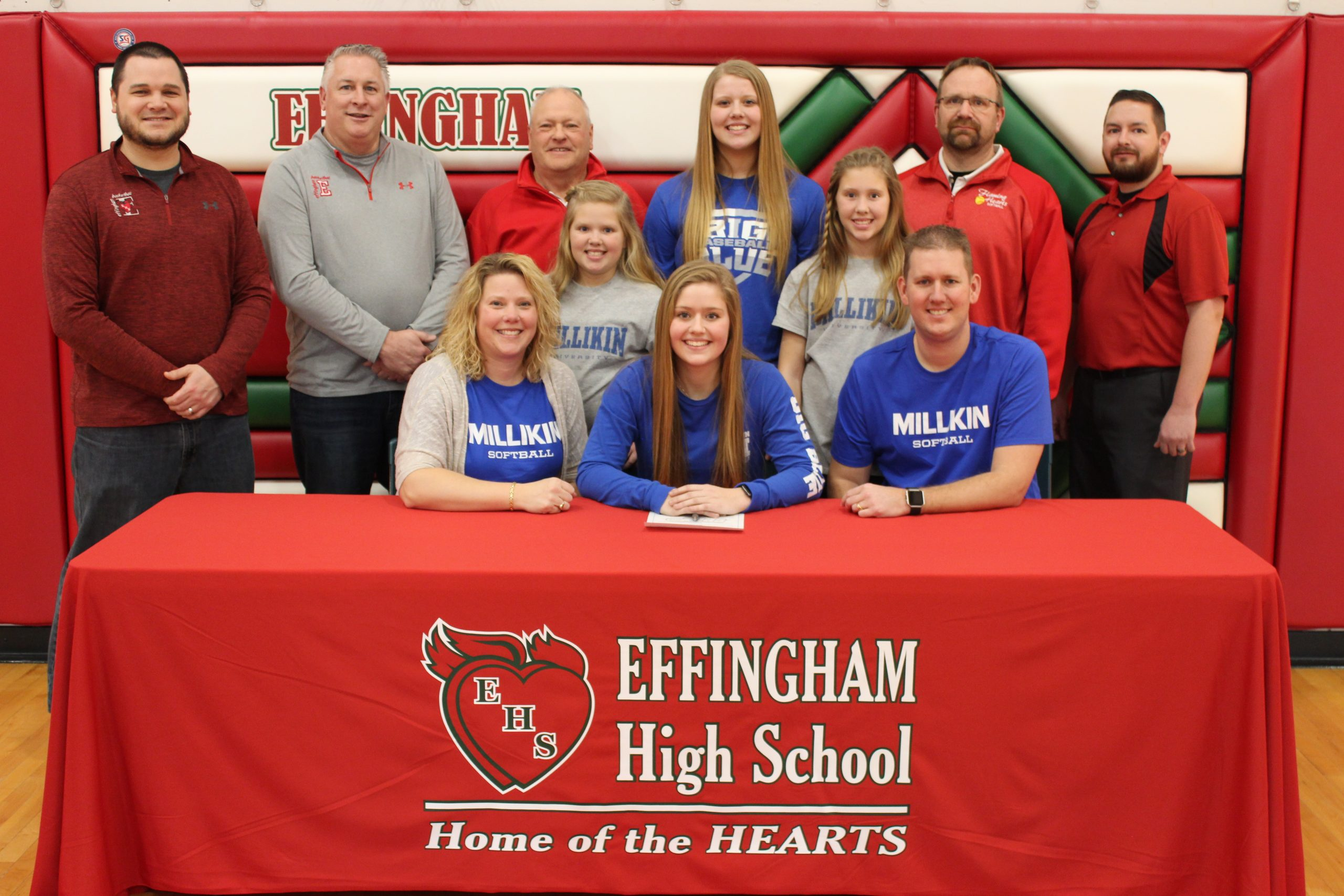Effingham Softball Player Signs With Millikin University