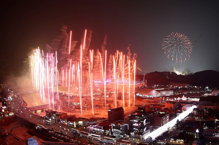 PyeongChang, Opening Ceremony Another Visual Spectacle