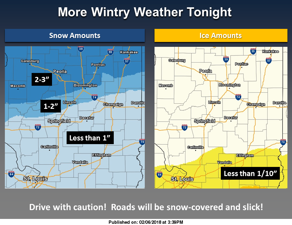 Winter Weather Expected Tonight/Advisory Issued for Listening Area