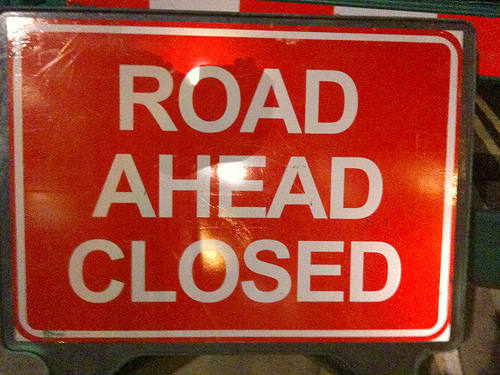 Upcoming Road Closures for Tomorrow; Seek Alternative Routes