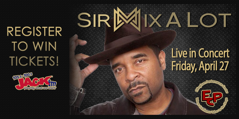 Sir Mix-A-Lot Ticket Giveaway!