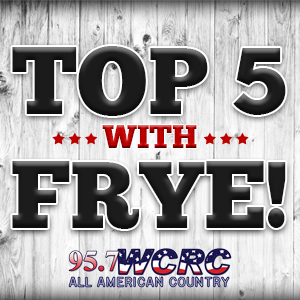 Wednesday's Top 5 with Frye