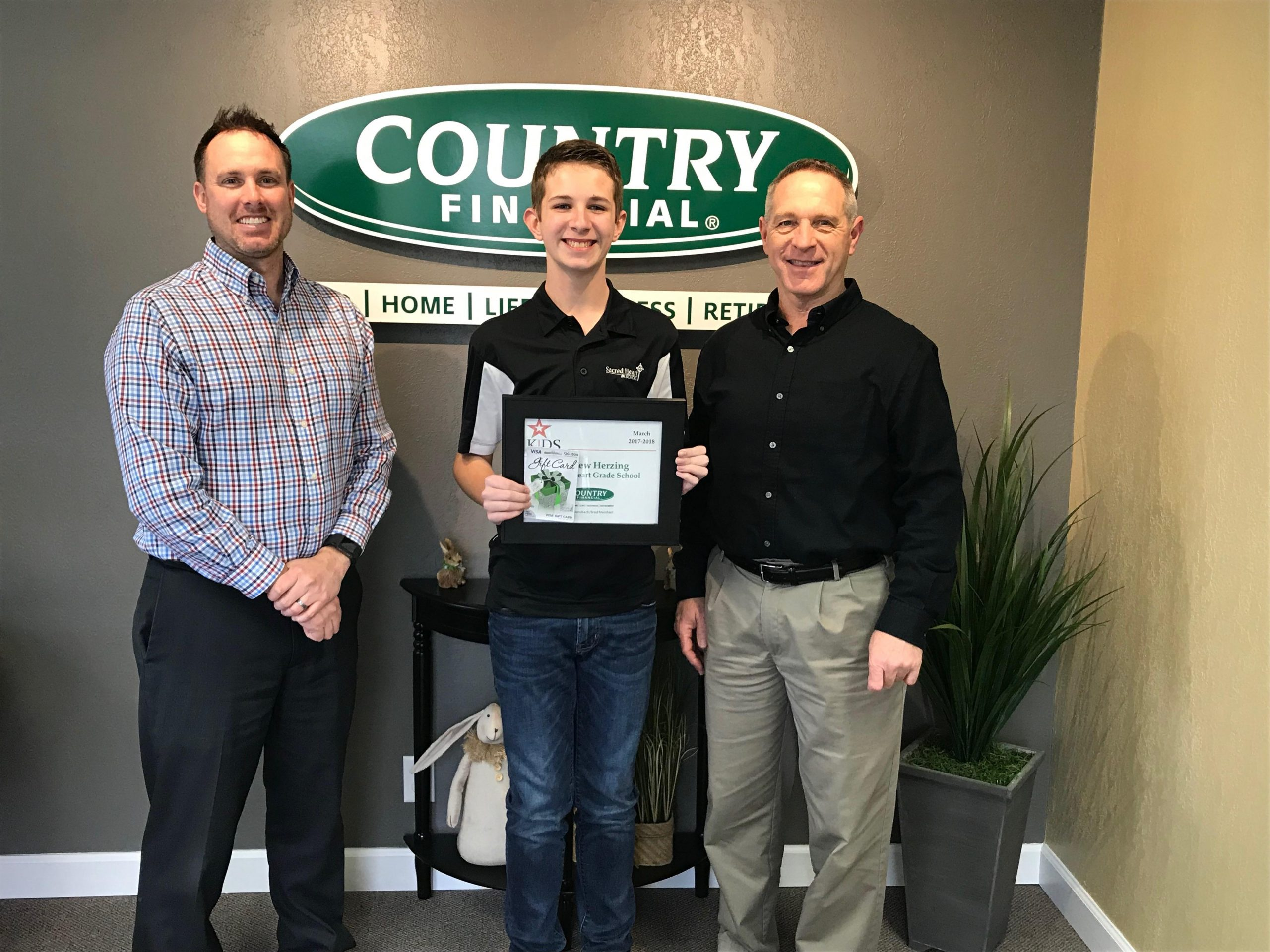 """COUNTRY Financial in Effingham Announces March Winner for """"Kids Have Talent"""""""