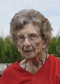 Clara W. Wolf, 100