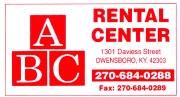 ABC-Rental
