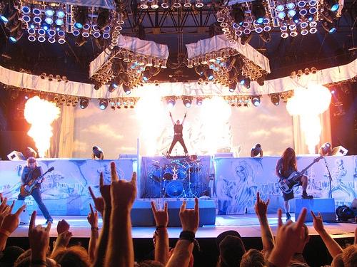 Iron Maiden's Bruce Dickinson Has A Favorite Pop Singer!